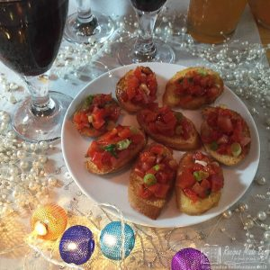 Red pepper Crostini