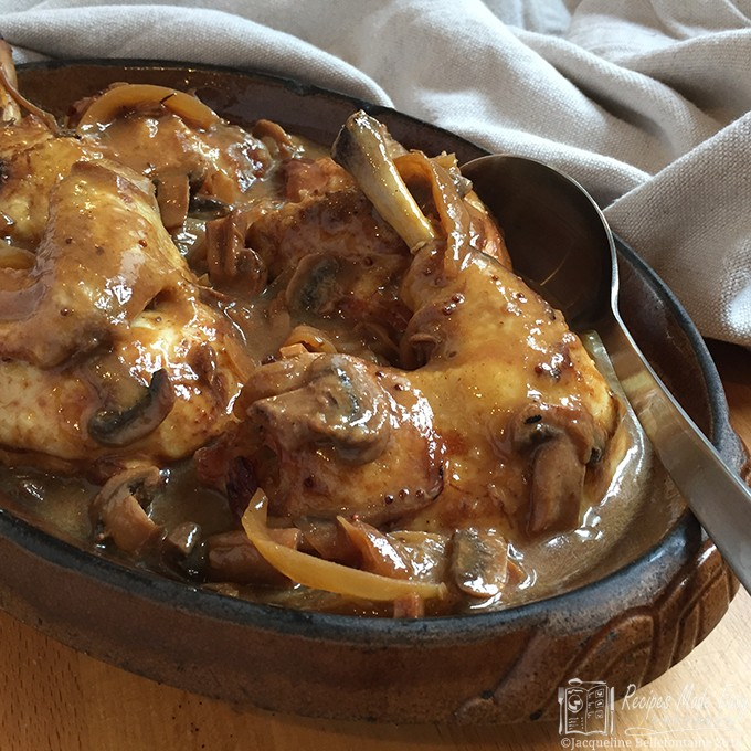 Chicken in cider