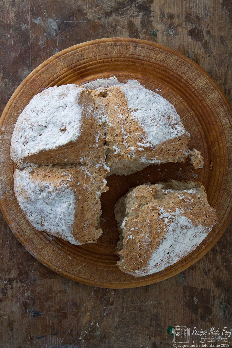 One of the easiest and quickest breads to make, soda bread is ideal when you need a loaf in a hurry.