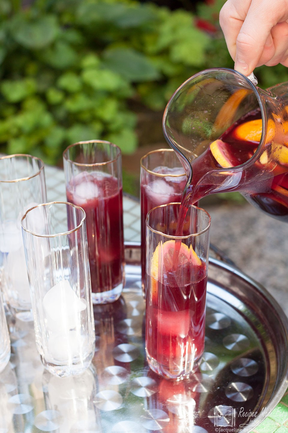 Sangria- the perfect summer drink