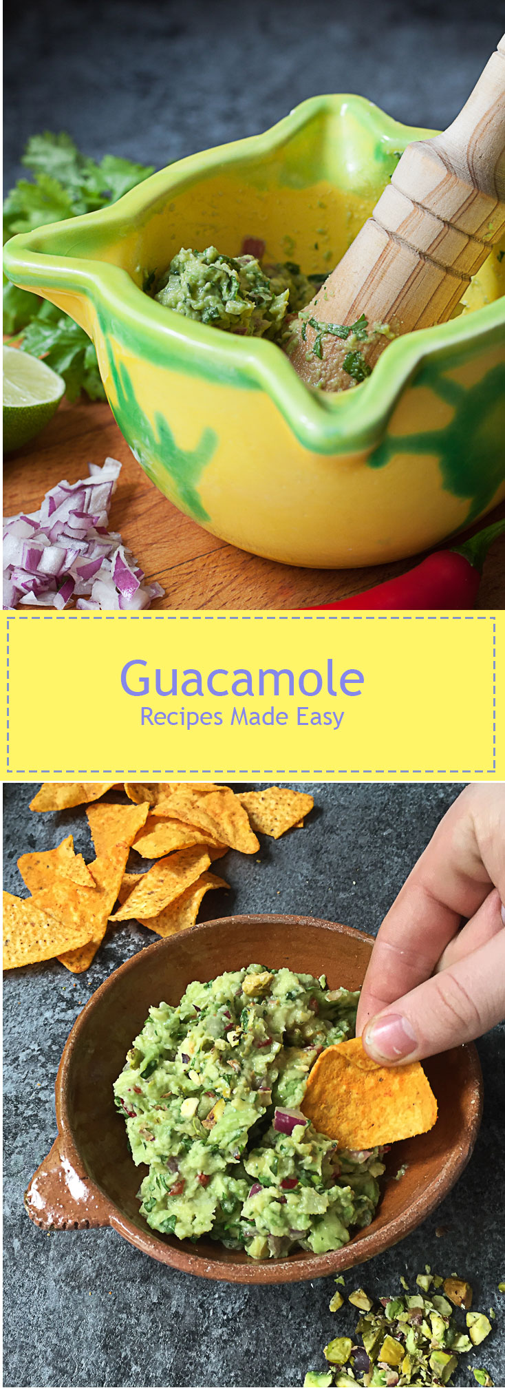 Guacamole - easy and quick to make and far superior to ready made.