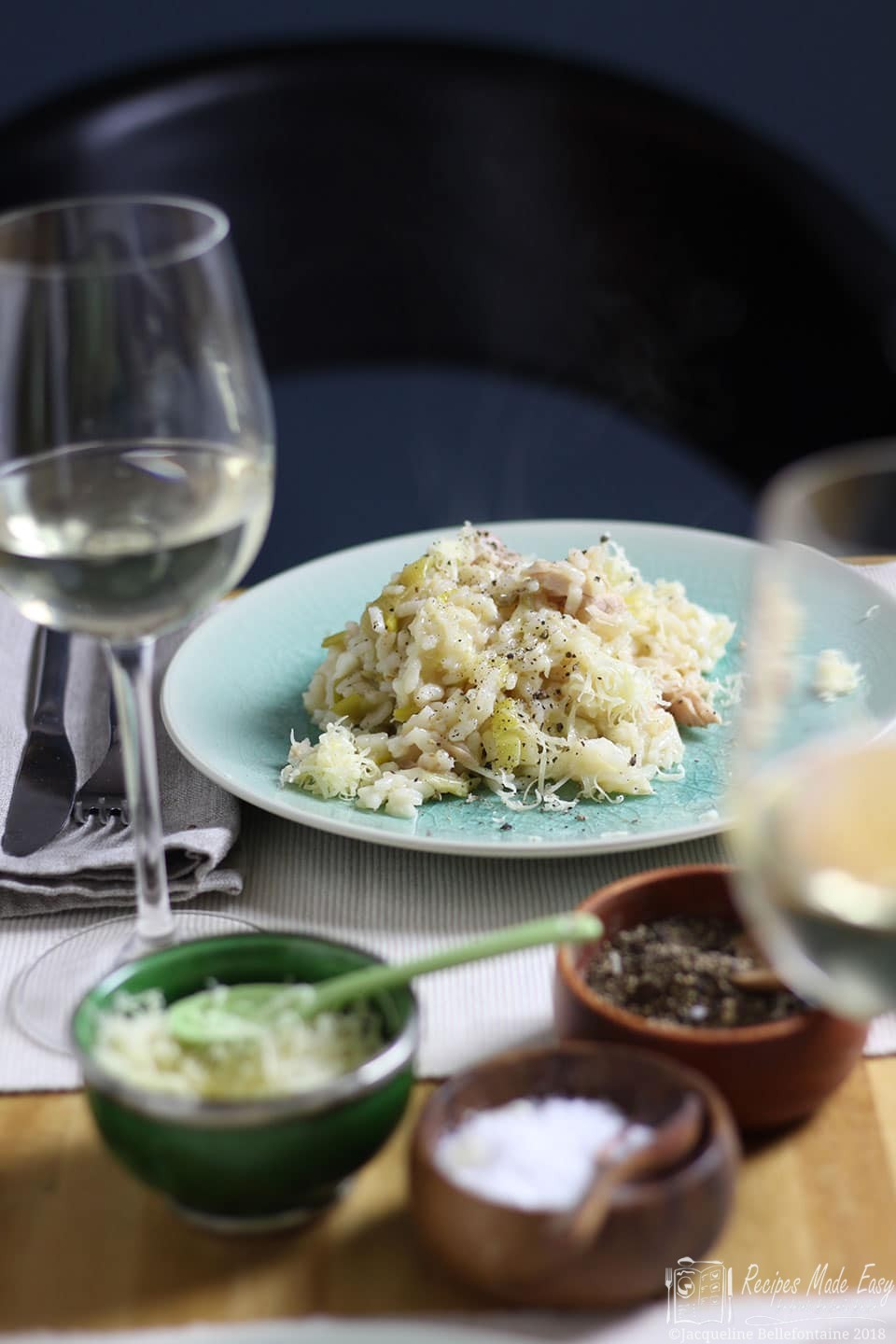 Recipes Made Easy chicken or turkey and leek risotto