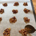 Recipes Made Easy - Pecan, Ginger and Cranberry Florentines, step by step