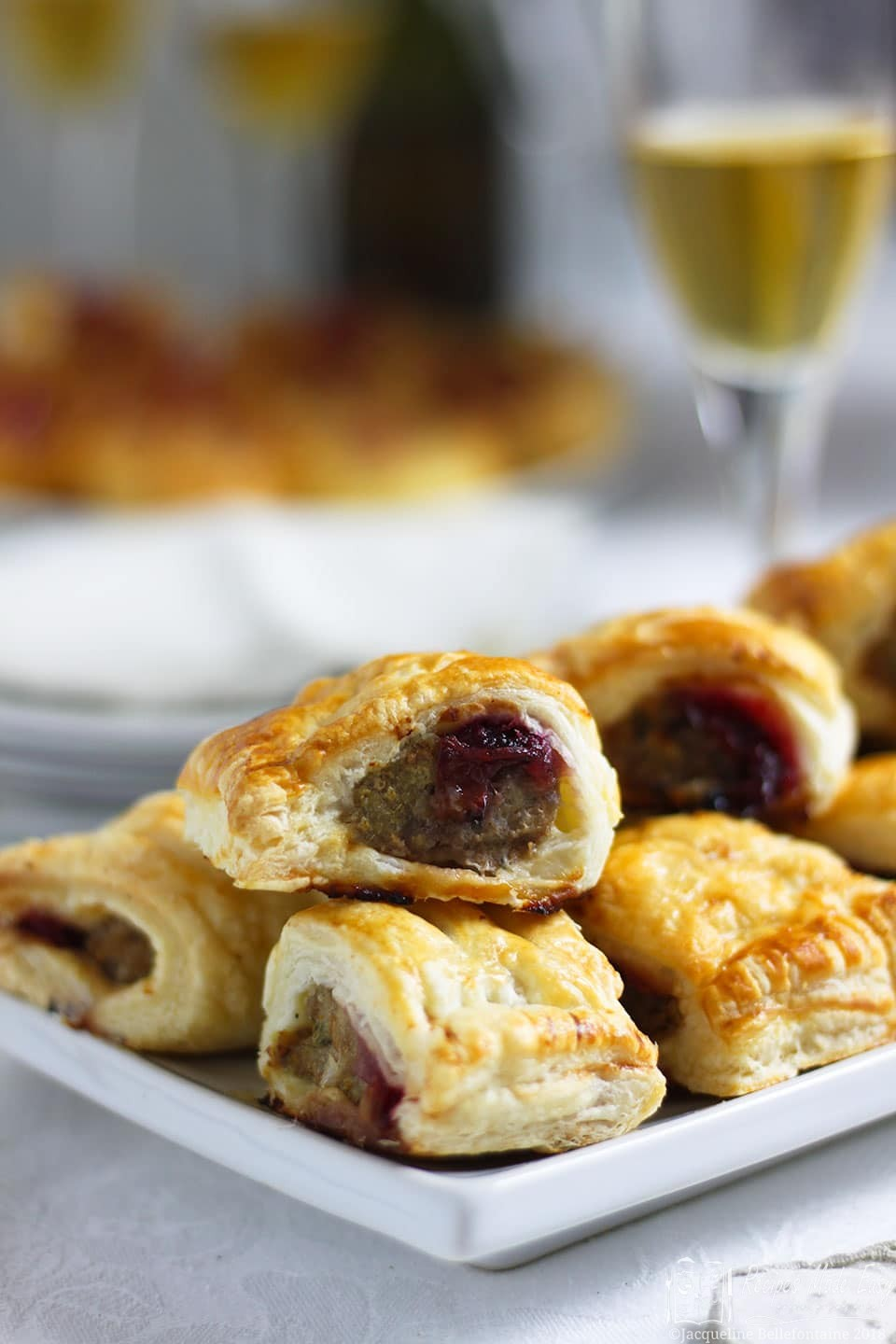 Pork and cranberry sausage rolls Recipes made easy