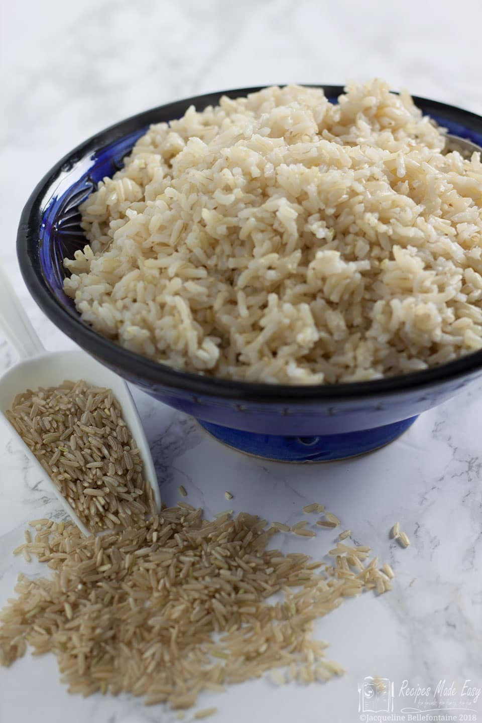 how to cook brown rice in a pressure cooker by Recipes Made Easy. recipesmadeeasy.co.uk