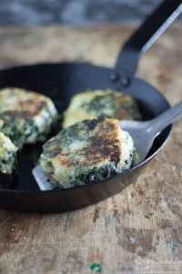 Kale Bubble and Squeak Cakes