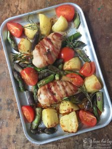 Chicken and Asparagus Tray Bake