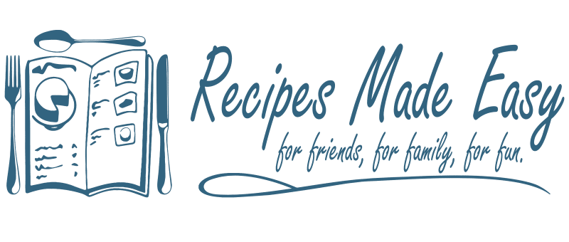 Recipes Made Easy Logo and Name