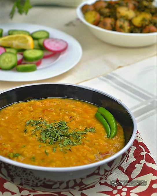 bowl of daal