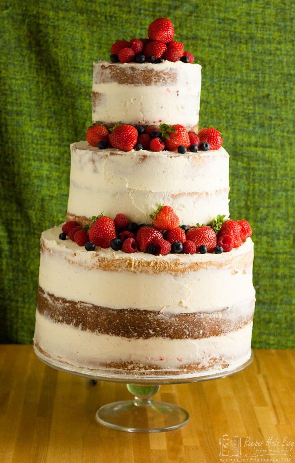 wedding cake recipes fruit how to make a semi wedding cake recipes made easy 23625